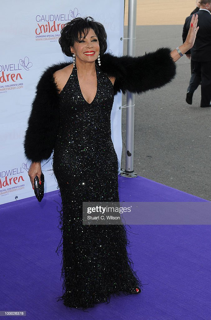 Dame Shirley Bassey attends The Caudwell Children Butterfly Ball at Battersea Evolution on May 20, 2010 in London, England.