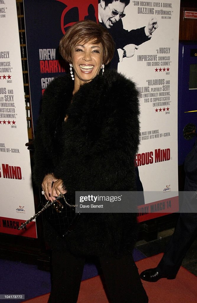 Dame Shirley Bassey, Confessions Of A Dangerous Mind The Movie That Marks The Directorial Debut.premiered In London Last Night.and The Party Was At Elyceum At The Cafe Royal