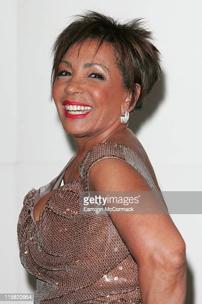 Dame Shirley Bassey during British Soap Awards Press Room at BBC Television Centre in London Great Britain