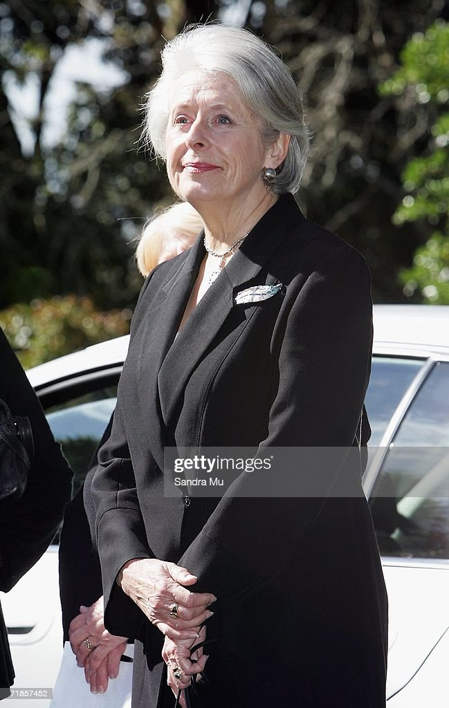 Dame Silvia Cartwright waits to pay her respects to the Late King of Tonga, Taufa'ahau Tupou IV in Epson, September 12, 2006 in Auckland, New Zealand. The body of the Late King will lie in state at his Auckland residence Atalanga before flying back to Tonga tomorrow for a state funeral.
