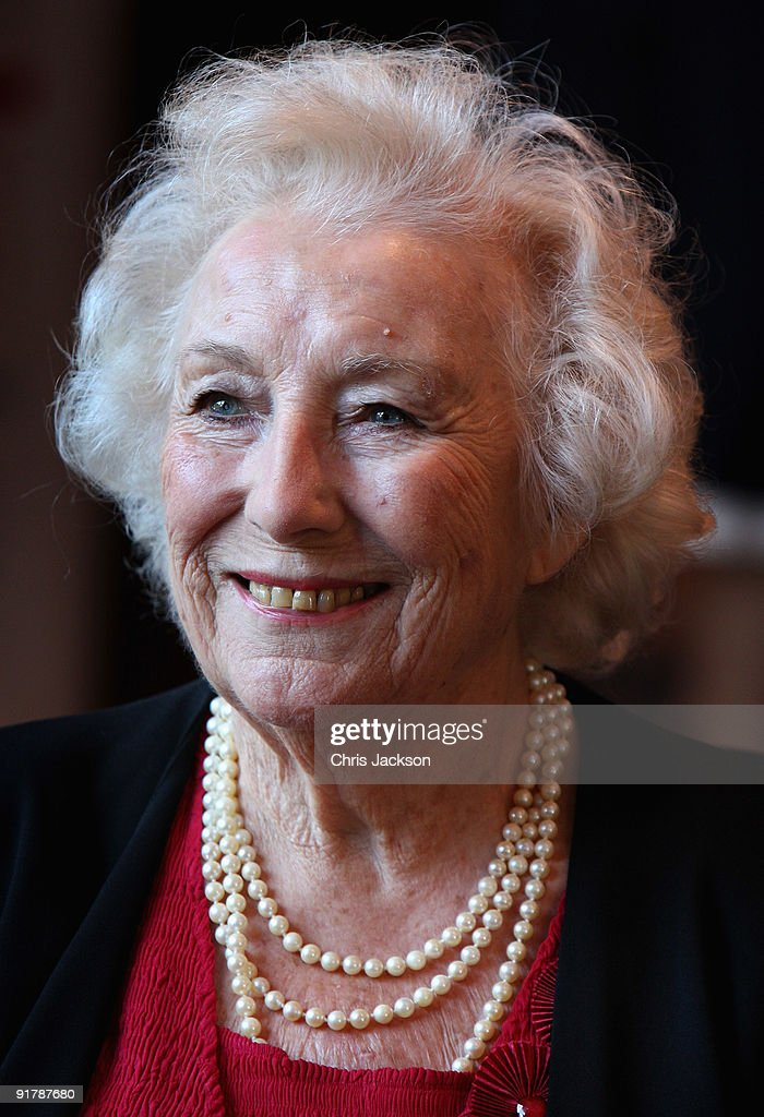 Dame Vera Lynn smiles as she attends the Women of the Year Lunch at Intercontinental Hotel on October 12, 2009 in London, England.