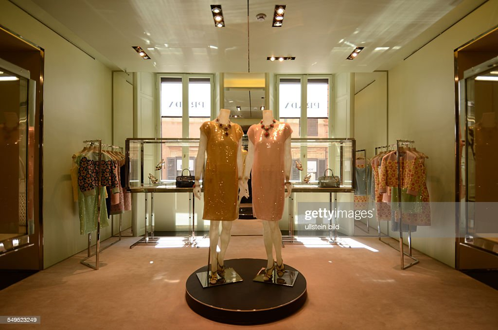 Rom, PRADA Showroom Pictures | Getty Images