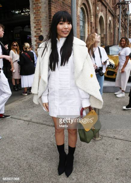 Dami Im attends MBFWA on May 15 2017 in Sydney Australia