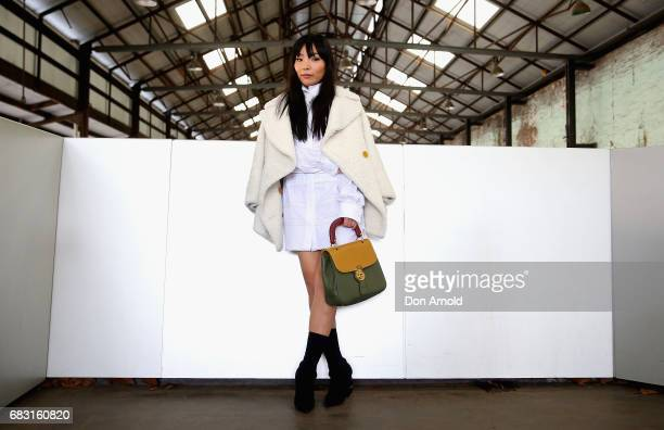 Dami Im wears Burberry during MercedesBenz Fashion Week Resort 18 Collections at Carriageworks on May 15 2017 in Sydney Australia