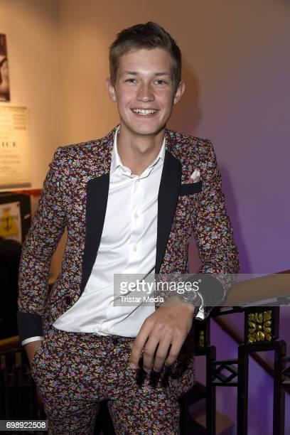 Damian Hardung attends the Studio Hamburg Nachwuchspreis 2017 at Thalia Theater on June 20 2017 in Hamburg Germany