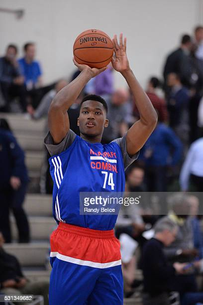 Damian Jones shoots the ball during 2016 NBA Draft Combine on May 12 2016 at the Quest Multisport in Chicago Illinois NOTE TO USER User expressly...