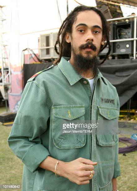 Damian 'Jr Gong' Marley during Vegoose Music Festival 2006 Day 2 Damian 'Jr Gong' Marley at Sam Boyd Stadium in Las Vegas Nevada United States