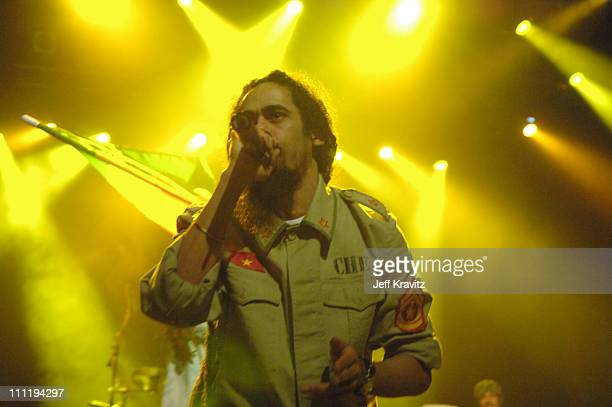 Damian 'Jr Gong' Marley during Vegoose Music Festival 2006 Night 1 Damian 'Jr Gong' Marley at The Joint Hard Rock in Las Vegas Nevada United States