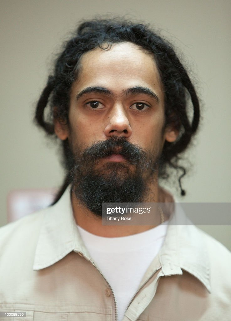 Damian 'Jr. Gong' Marley performs on Fuel TV's 'The Daily Habit' on May 20, 2010 in Los Angeles, California.