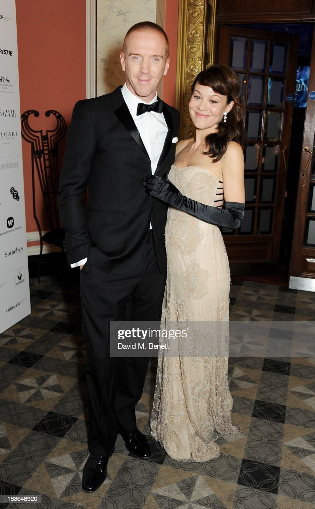 <a gi-track='captionPersonalityLinkClicked' href=/galleries/search?phrase=Damian+Lewis&family=editorial&specificpeople=206939 ng-click='$event.stopPropagation()'>Damian Lewis</a> (L) and <a gi-track='captionPersonalityLinkClicked' href=/galleries/search?phrase=Helen+McCrory&family=editorial&specificpeople=214616 ng-click='$event.stopPropagation()'>Helen McCrory</a> attend a BFI Luminous Gala ahead of the London Film Festival at 8 Northumberland Avenue on October 8, 2013 in London, England.