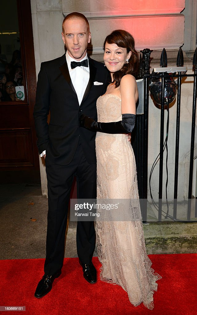 <a gi-track='captionPersonalityLinkClicked' href=/galleries/search?phrase=Damian+Lewis&family=editorial&specificpeople=206939 ng-click='$event.stopPropagation()'>Damian Lewis</a> and <a gi-track='captionPersonalityLinkClicked' href=/galleries/search?phrase=Helen+McCrory&family=editorial&specificpeople=214616 ng-click='$event.stopPropagation()'>Helen McCrory</a> attend a gala dinner hosted by the BFI ahead of the London Film Festival at 8 Northumberland Avenue on October 8, 2013 in London, England.