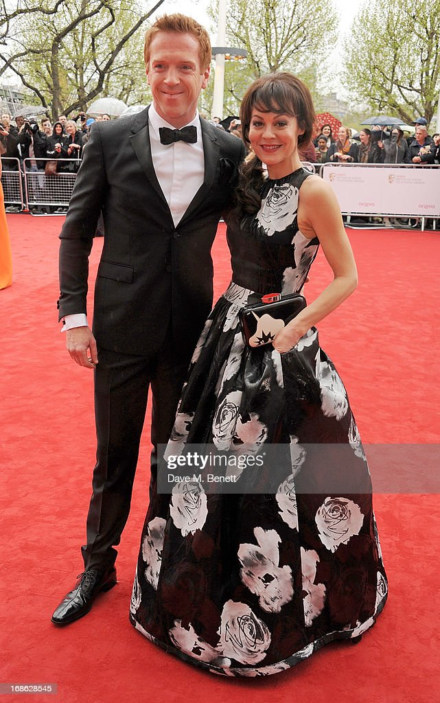 Damian Lewis (L) and Helen McCrory attend the Arqiva British Academy Television Awards 2013 at the Royal Festival Hall on May 12, 2013 in London, England.