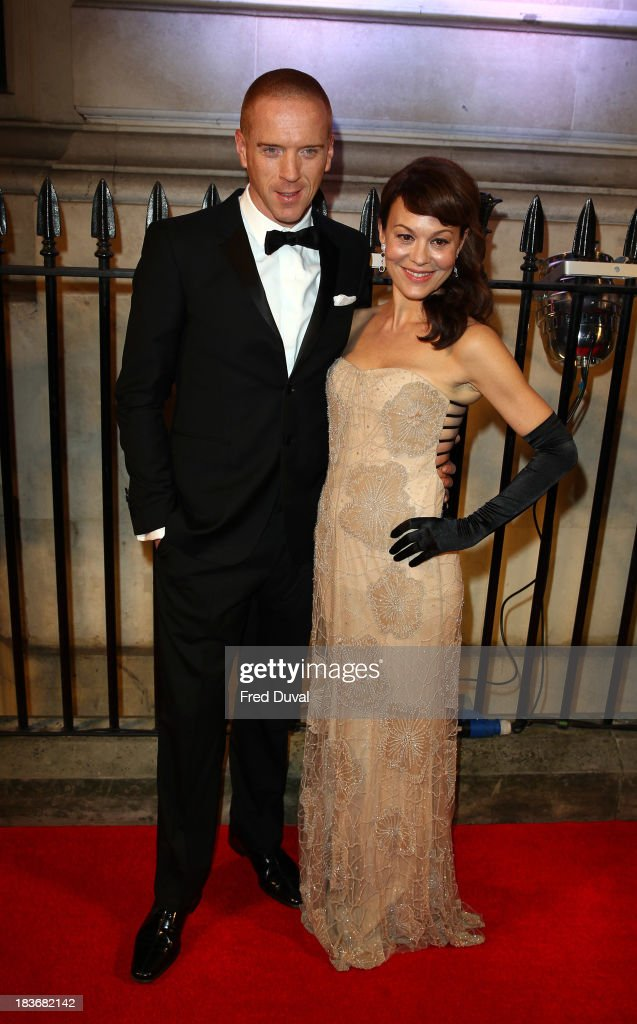 <a gi-track='captionPersonalityLinkClicked' href=/galleries/search?phrase=Damian+Lewis&family=editorial&specificpeople=206939 ng-click='$event.stopPropagation()'>Damian Lewis</a> and <a gi-track='captionPersonalityLinkClicked' href=/galleries/search?phrase=Helen+McCrory&family=editorial&specificpeople=214616 ng-click='$event.stopPropagation()'>Helen McCrory</a> attend the BFI Gala Dinner at 8 Northumberland Avenue on October 8, 2013 in London, England.