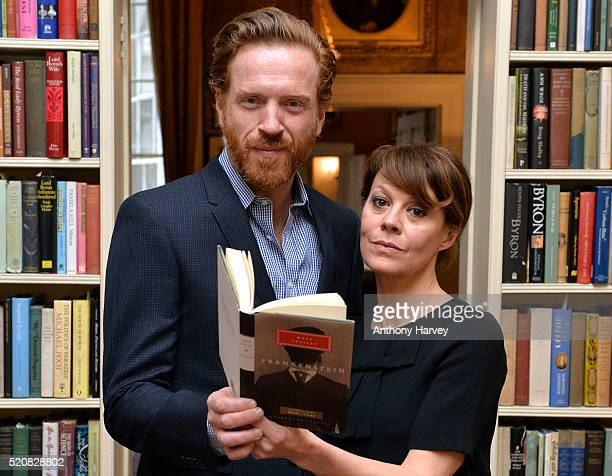 Damian Lewis and Helen McCrory attend the KeatsShelley Romantic Poetry Prize at John Murray House on April 13 2016 in London England