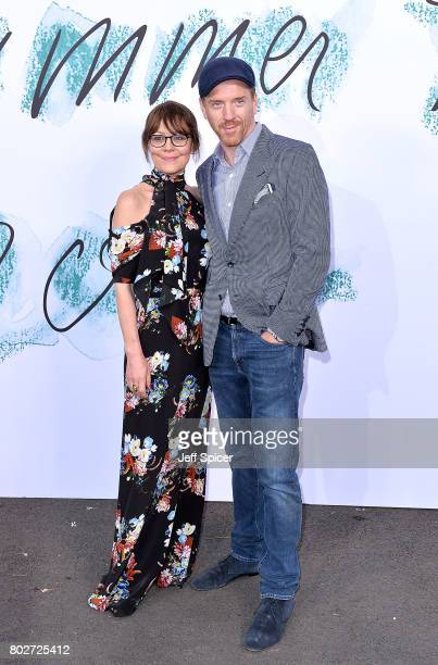 Damian Lewis and Helen McCrory attend The Serpentine Galleries Summer Party at The Serpentine Gallery on June 28 2017 in London England