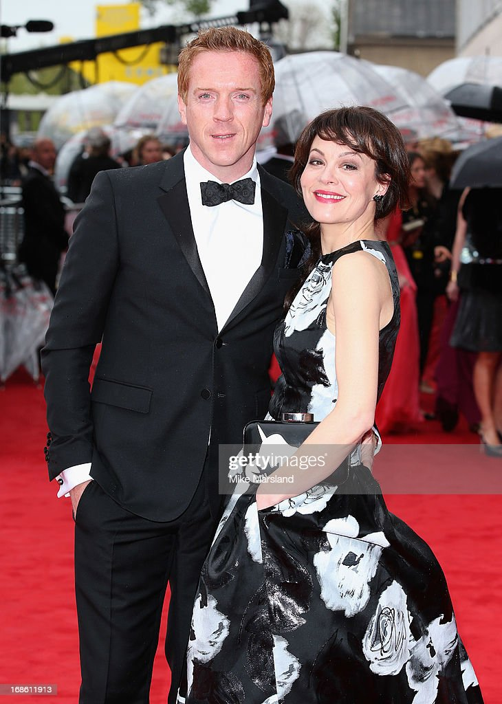 <a gi-track='captionPersonalityLinkClicked' href=/galleries/search?phrase=Damian+Lewis&family=editorial&specificpeople=206939 ng-click='$event.stopPropagation()'>Damian Lewis</a> and <a gi-track='captionPersonalityLinkClicked' href=/galleries/search?phrase=Helen+McCrory&family=editorial&specificpeople=214616 ng-click='$event.stopPropagation()'>Helen McCrory</a> attends the Arqiva British Academy Television Awards 2013 at the Royal Festival Hall on May 12, 2013 in London, England.
