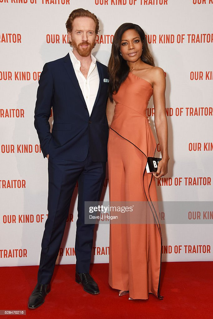 <a gi-track='captionPersonalityLinkClicked' href=/galleries/search?phrase=Damian+Lewis&family=editorial&specificpeople=206939 ng-click='$event.stopPropagation()'>Damian Lewis</a> (L) and <a gi-track='captionPersonalityLinkClicked' href=/galleries/search?phrase=Naomie+Harris&family=editorial&specificpeople=238918 ng-click='$event.stopPropagation()'>Naomie Harris</a> arrive for the UK Gala Screening of 'Our Kind Of Traitor' at The Curzon Mayfair on May 5, 2016 in London, England.