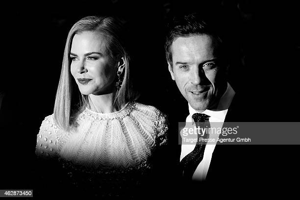Damian Lewis and Nicole Kidman attend the 'Queen of the Desert' premiere during the 65th Berlinale International Film Festival at Berlinale Palace on...