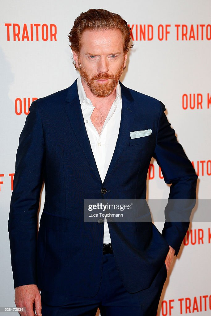 Damian Lewis arrives for the UK Gala of 'Our Kind Of Traitor' at The Curzon Mayfair on May 5, 2016 in London, England.