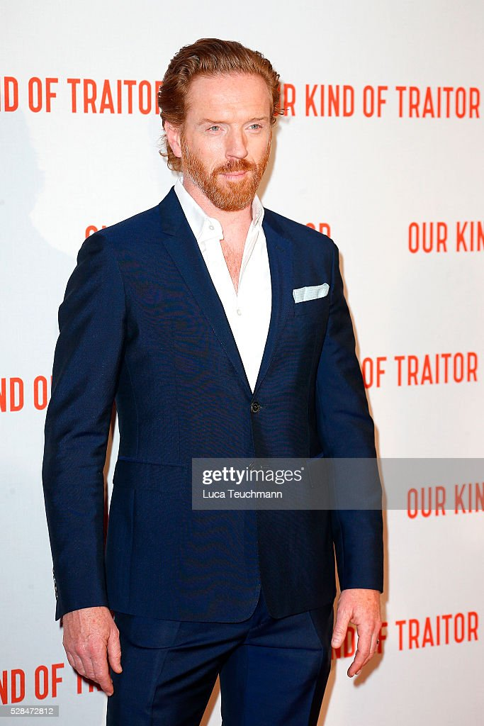 <a gi-track='captionPersonalityLinkClicked' href=/galleries/search?phrase=Damian+Lewis&family=editorial&specificpeople=206939 ng-click='$event.stopPropagation()'>Damian Lewis</a> arrives for the UK Gala of 'Our Kind Of Traitor' at The Curzon Mayfair on May 5, 2016 in London, England.