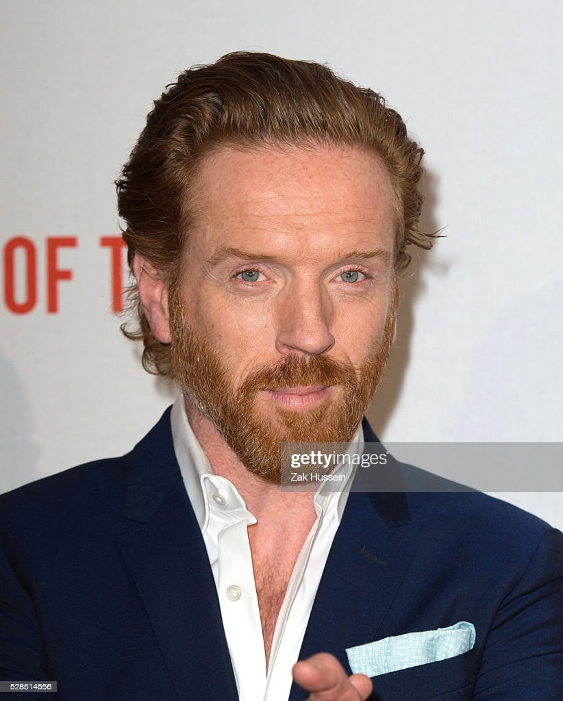 Damian Lewis arrives for the UK Gala of 'Our Kind Of Traitor' at The Washington Hotel on May 5, 2016 in London, England.