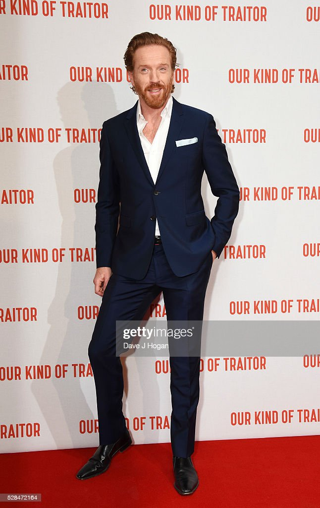 Damian Lewis arrives for the UK Gala Screening of 'Our Kind Of Traitor' at The Curzon Mayfair on May 5, 2016 in London, England.