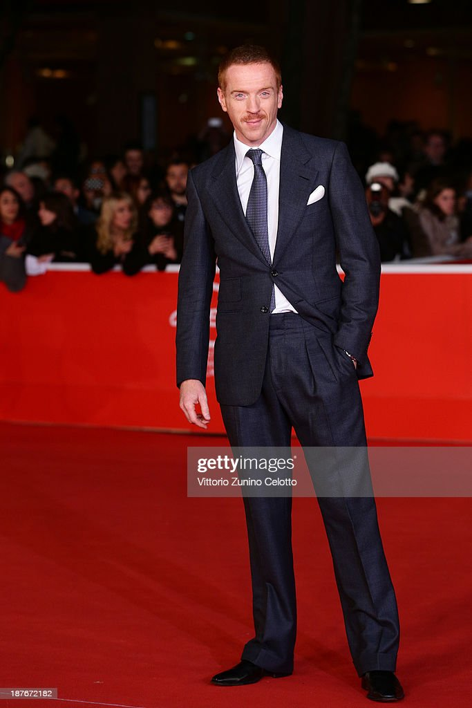 <a gi-track='captionPersonalityLinkClicked' href=/galleries/search?phrase=Damian+Lewis&family=editorial&specificpeople=206939 ng-click='$event.stopPropagation()'>Damian Lewis</a> attends 'Romeo And Juliet' Premiere during The 8th Rome Film Festival at Auditorium Parco Della Musica on November 11, 2013 in Rome, Italy.