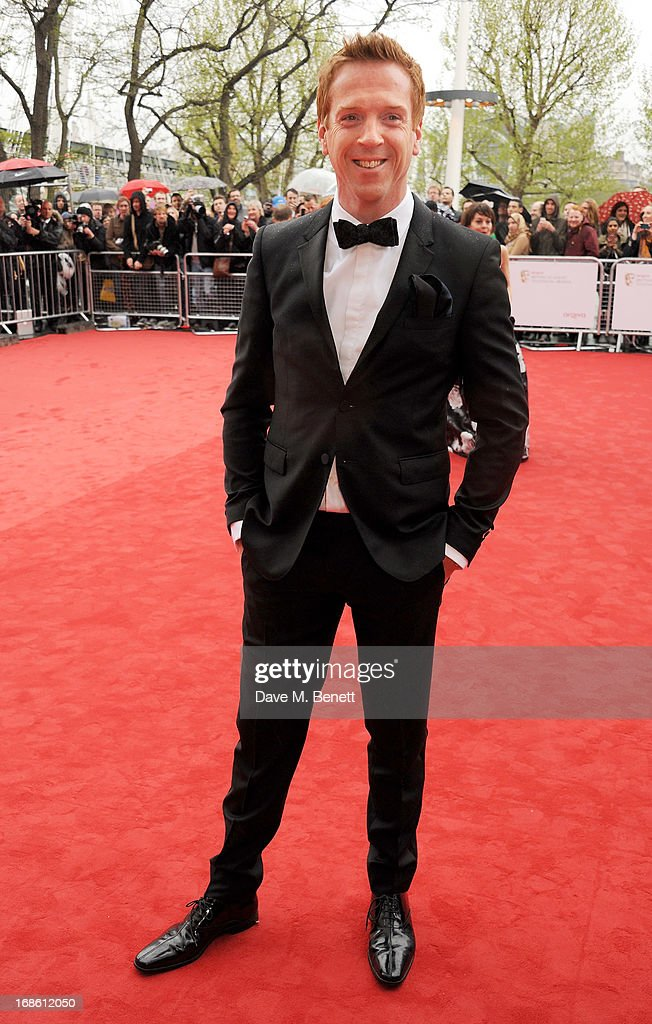<a gi-track='captionPersonalityLinkClicked' href=/galleries/search?phrase=Damian+Lewis&family=editorial&specificpeople=206939 ng-click='$event.stopPropagation()'>Damian Lewis</a> attends the Arqiva British Academy Television Awards 2013 at the Royal Festival Hall on May 12, 2013 in London, England.