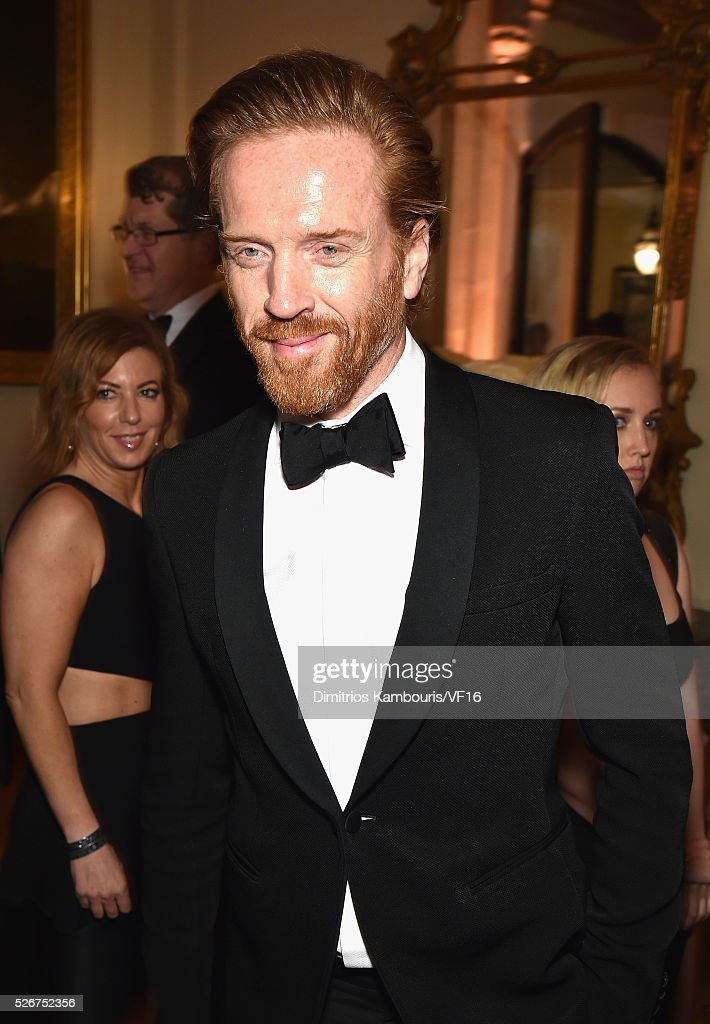 Damian Lewis attends the Bloomberg & Vanity Fair cocktail reception following the 2015 WHCA Dinner at the residence of the French Ambassador on April 30, 2016 in Washington, DC.