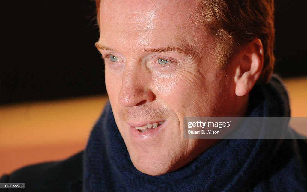 <a gi-track='captionPersonalityLinkClicked' href=/galleries/search?phrase=Damian+Lewis&family=editorial&specificpeople=206939 ng-click='$event.stopPropagation()'>Damian Lewis</a> attends the press night for 'The Book of Mormon' at Prince Of Wales Theatre on March 21, 2013 in London, England.