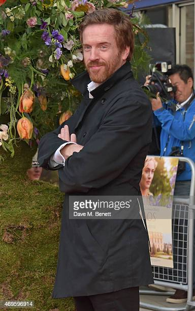 Damian Lewis attends the UK premiere of 'A Little Chaos' at ODEON Kensington on April 13 2015 in London England