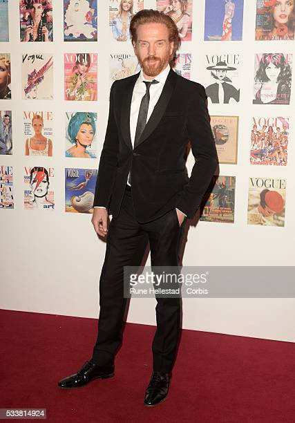 Damian Lewis attends the Vogue 100 Gala Dinner at Kensington Gardens on May 22 2016 in London England