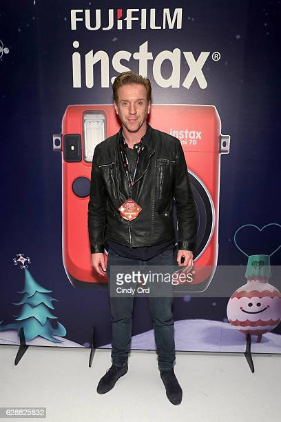 Damian Lewis attends Z100's artist gift lounge during Jingle Ball 2016 at Madison Square Garden on December 9 2016 in New York City