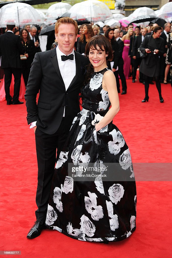 Damian Lewis & Helen McCrory attends the Arqiva British Academy Television Awards 2013 at the Royal Festival Hall on May 12, 2013 in London, England.