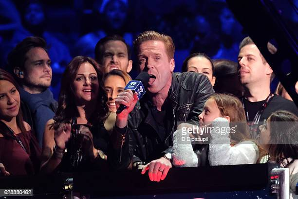 Damian Lewis speaks during Z100's Jingle Ball 2016 at Madison Square Garden on December 9 2016 in New York City