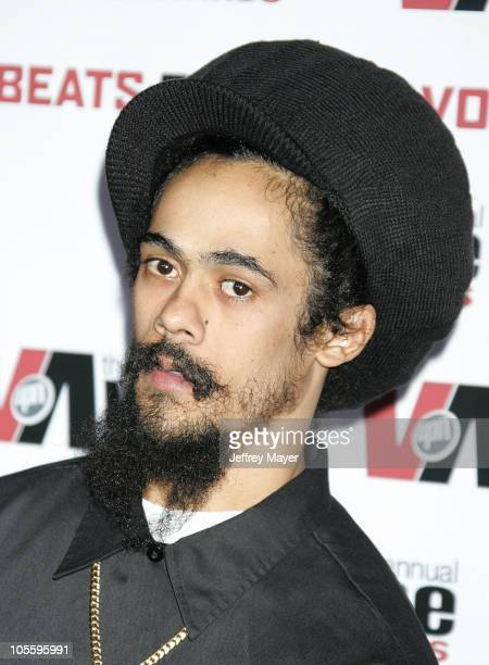 Damian Marley during 2005 Vibe Awards Arrivals at Sony Studios in Culver City California United States