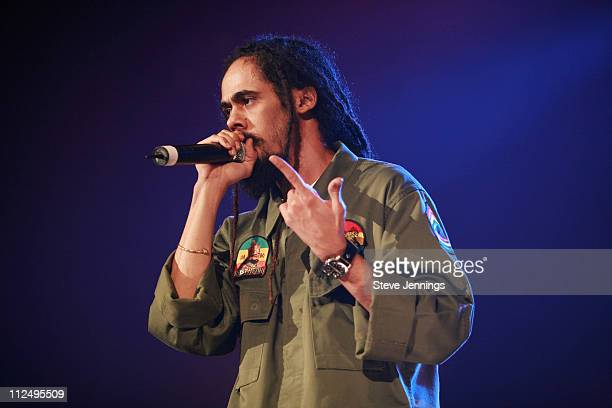 Damian Marley during Control Room Hosts Snoop Dogg in Concert October 29 2006 at Bill Graham Civic Auditorium in San Francisco California United...
