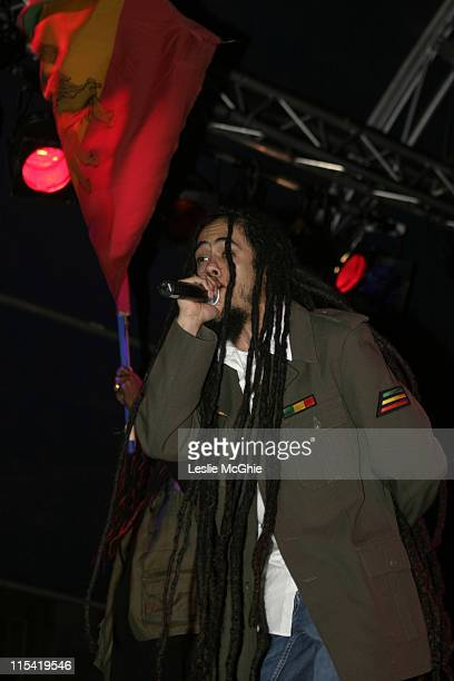 Damian Marley during Damian Marley Perfoms at Somerset House Summer Series 2006 at Somerset House in London Great Britain