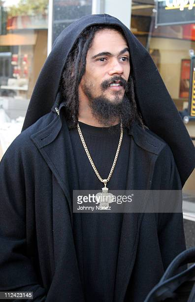 Damian Marley during Nas and Damien Marley 'Road to Zion' Video Shoot October 26 2005 at In a correctional facility in Queens in New York City New...