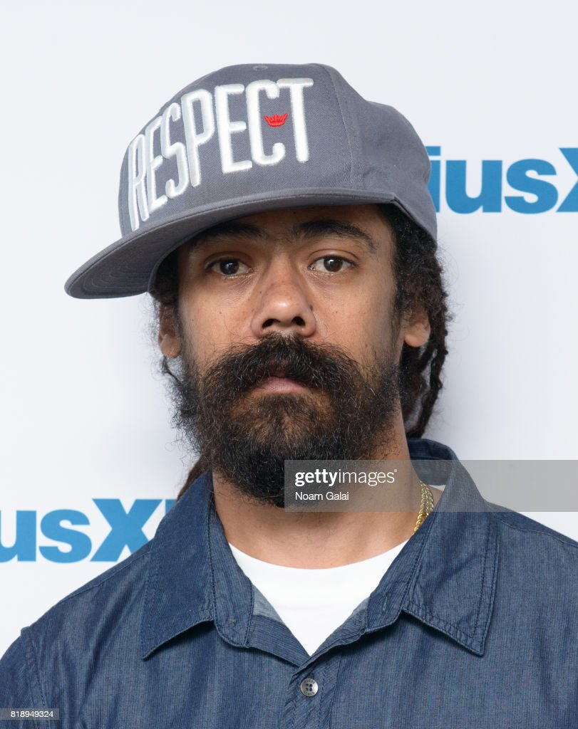 Damian Marley visits SiriusXM Studios on July 19, 2017 in New York City.
