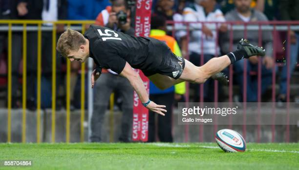 Damian McKenzie of New Zealand during the Rugby Championship 2017 match between South Africa and New Zealand at DHL Newlands on October 07 2017 in...