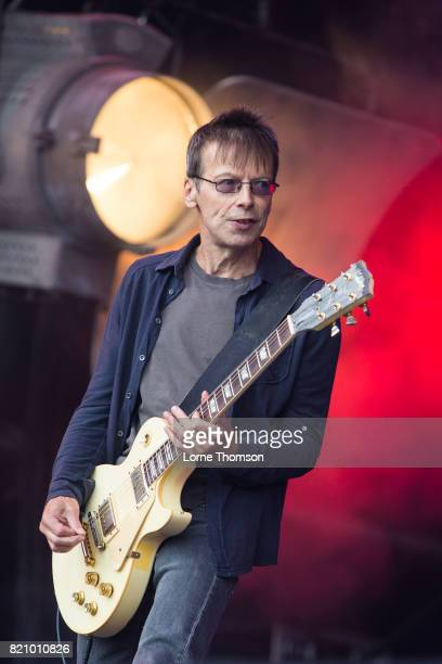 Damian O'Neill of The Undertones performs on Day 2 of Rewind Festival at Scone Palace on July 22 2017 in Perth Scotland