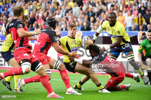 Damian Penaud of Clermont during the the Top 14 Final between RC Toulon and Clermont Auvergne at Stade de France on June 4 2017 in Paris France