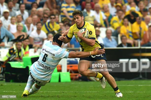 Damian Penaud of Clermont during the Top 14 semi final match between Racing 92 and Clermont Auvergne at Orange Velodrome on May 27 2017 in Marseille...