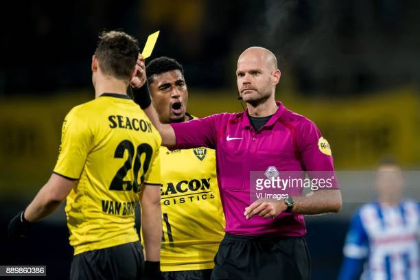 Damian van Bruggen of VVV Jerold Promes of VVV Rob Dieperink during the Dutch Eredivisie match between sc Heerenveen and VVV Venlo at Abe Lenstra...