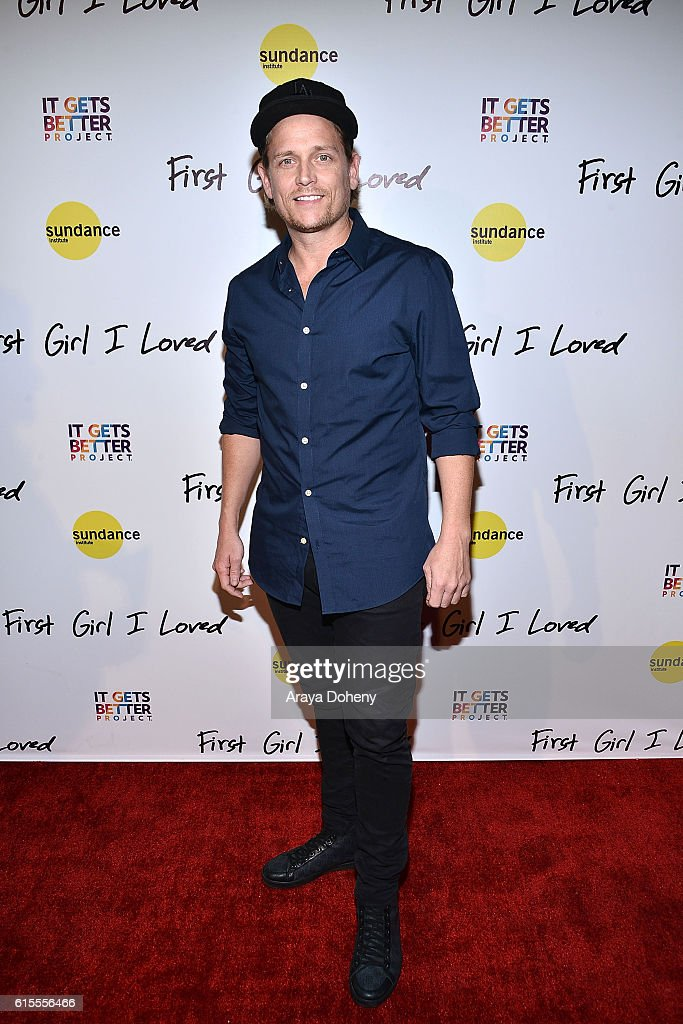 Damian Whitewood attends the premiere of PSH Collective's 'First Girl I Loved' at the Vista Theatre on October 18, 2016 in Los Angeles, California.