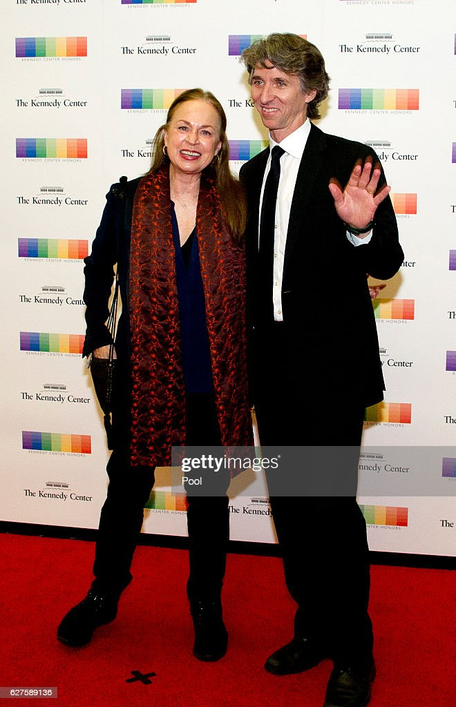 Damian Woetzel and his wife, Heather Watts, arrive for the formal Artist's Dinner honoring the recipients of the 39th Annual Kennedy Center Honors hosted by United States Secretary of State John F. Kerry at the U.S. Department of State on December 3, 2016 in Washington, D.C. The 2016 honorees are: Argentine pianist Martha Argerich; rock band the Eagles; screen and stage actor Al Pacino; gospel and blues singer Mavis Staples; and musician James Taylor.