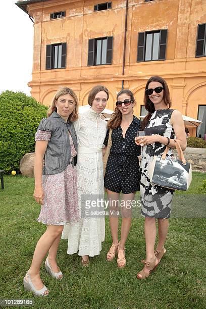 Damiana Leoni Caterina Nelli Chiara Clemente and Marie Louise Scio attend a Picnic Swing at 'La Posta Vecchia' on May 30 2010 in Ladispoli Italy
