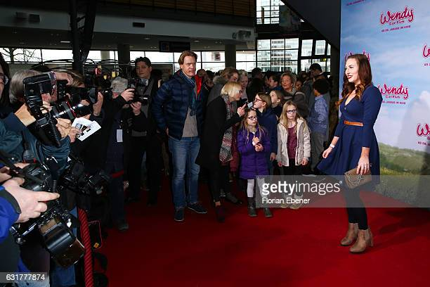 Damiana Spoeckinger attends the premiere of 'Wendy Der Film' at Cinedom on January 15 2016 in Cologne Germany