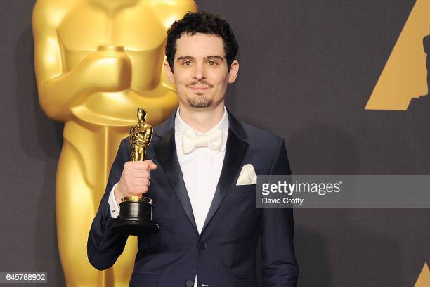Damien Chazelle attends the 89th Annual Academy Awards Press Room at Hollywood Highland Center on February 26 2017 in Hollywood California